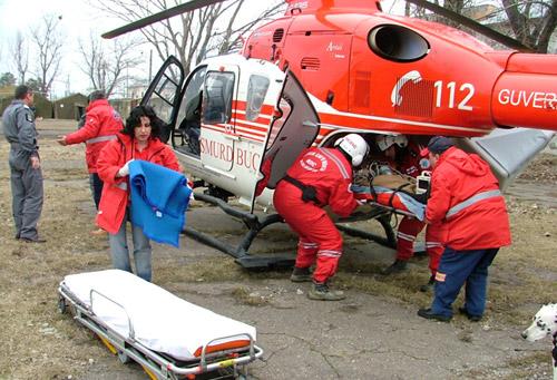 Elicopterul SMURD a intervenit azi dimineaţă la Satu Mare