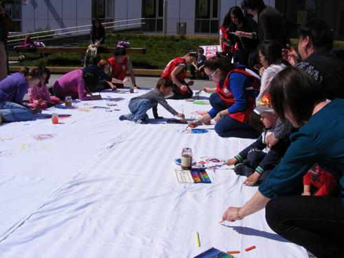 Copiii desenează