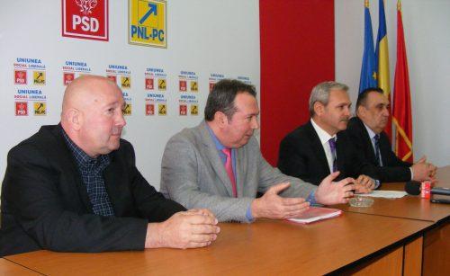 Liviu Dragnea a inspectat organizaţia PSD Satu Mare