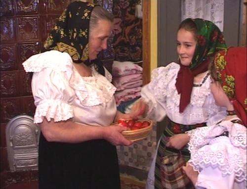 Obiceiuri de Paşte – fuga cu coşurile, în Turţ