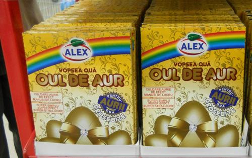 Paştele vine cu ouă de aur