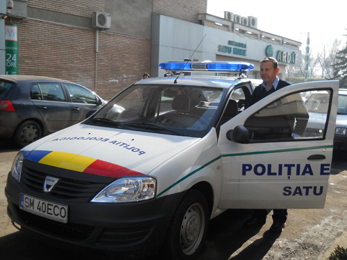 Poliţia Ecologică la trântă cu gunoaiele din Sătmar