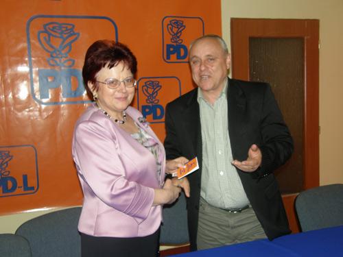 Eugenia Sabău a devenit oficial membru PD-L