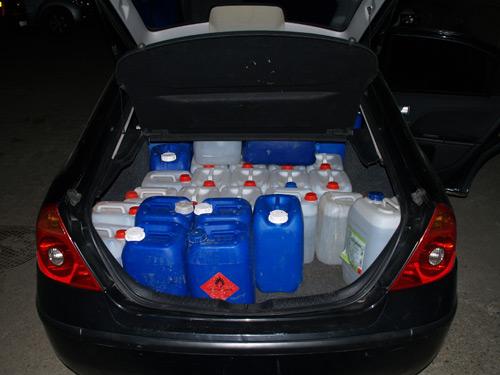 80.000 lei amenzi aplicate pentru încălcarea legii privind comerţul cu alcool