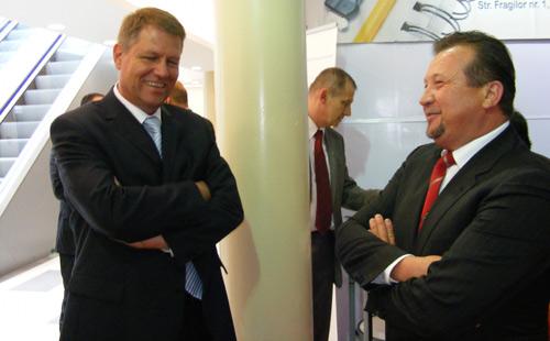 Klaus Johannis, primarul Sibiului, se înscrie în PNL