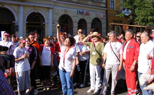 Sute de sătmăreni la Maratonul Caritas