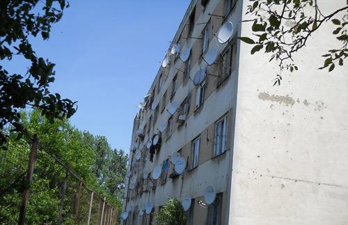 Scandal pe strada Ostrovului