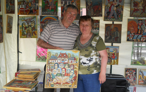 Celebru în lume, pictorul Ioan Măric participă la Târgul Meșterilor Populari din Satu Mare