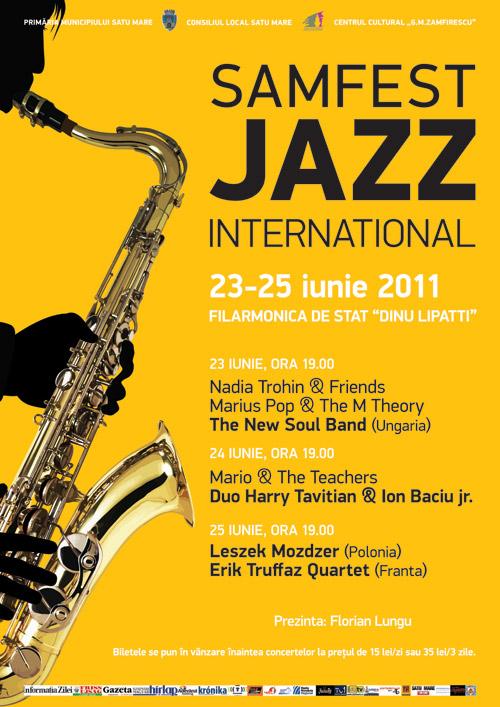 Samfest Jazz – 23-25 iunie