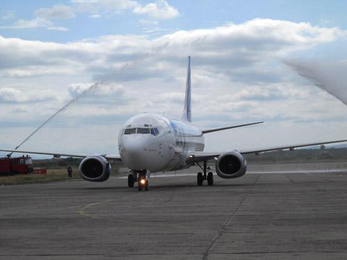 Prima cursă aeriană Satu Mare – Antalya