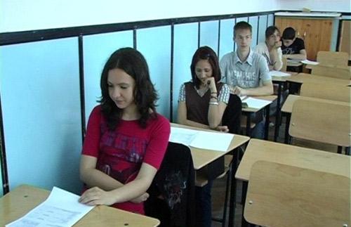 Absolvenţii de clasa a VIII-a în febra examenelor