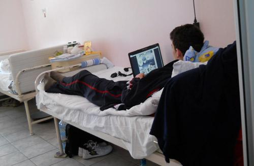 La Spitalul TBC – sistem de alarmare la patul bolnavului