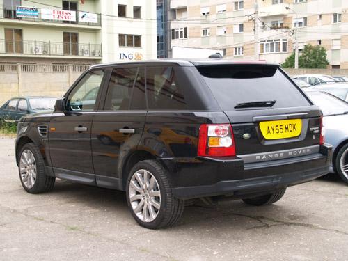 Land Rover furat din Marea Britanie
