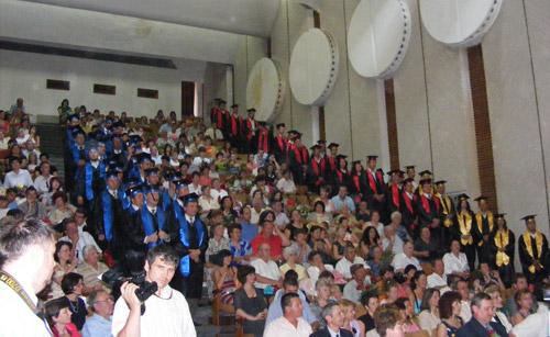 Universitatea Tehnică Cluj Napoca şi-a sărbătorit absolvenţii