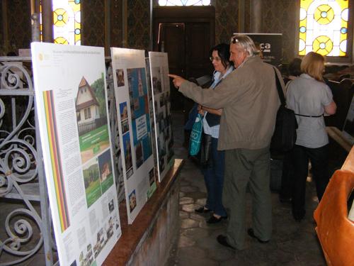 Expoziţie de arhitectură la Sinagoga din Satu Mare