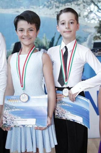 Eduard Ignat şi Silvia Ruba au câştigat Openul Italiei la dans sportiv