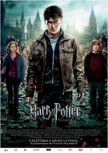 """""""Harry Potter şi Talismanele Morţii 2"""" la Cinema 3D Satu Mare"""