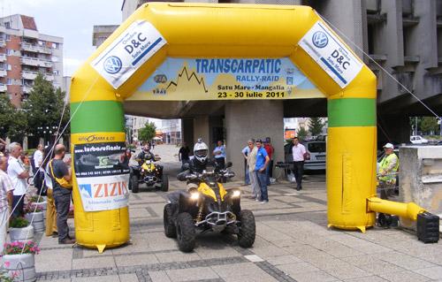 Primul incident la Transcarpatic Rally-Raid 2011
