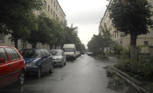 Oprirea autoturismelor pe bulevardul Sănătății va fi interzisă