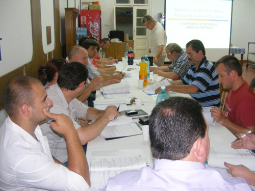 Împreună pentru dezvoltarea dialogului social în România
