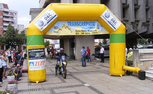 Startul Transcarpatic Rally-Raid 2011 s-a dat de la Satu Mare