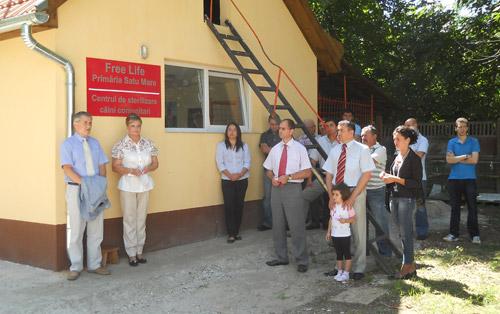 A fost inaugurat Centrul pentru Sterizarea Câinilor Comunitari