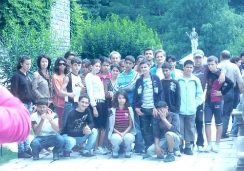Tabără pentru copiii romi la Sinaia