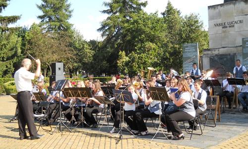 Duminică va avea loc al III-lea concert din cadrul Festivalului Fanfarelor din acest an