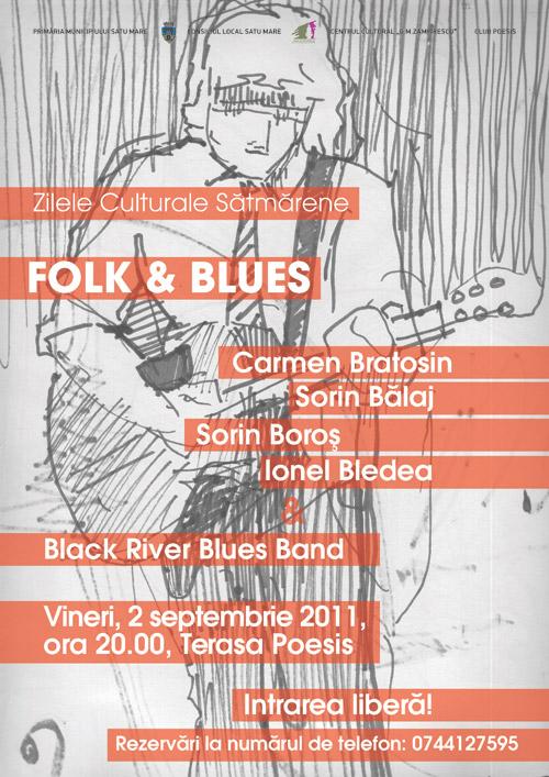 """Folk & Blues sătmărean la restaurantul """"Poesis"""""""