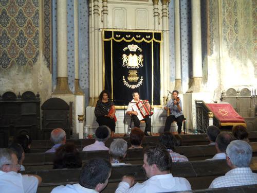 Concert klezmer la Sinagoga Mare