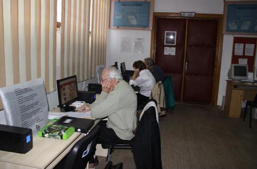 Inițiere în internet pentru pensionarii din Carei