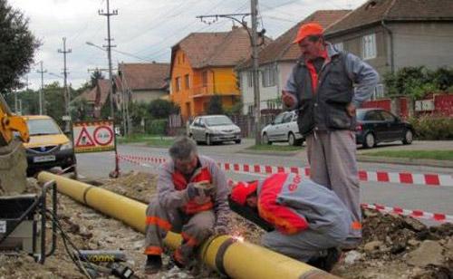 Miercuri, 22 de străzi fără gaz