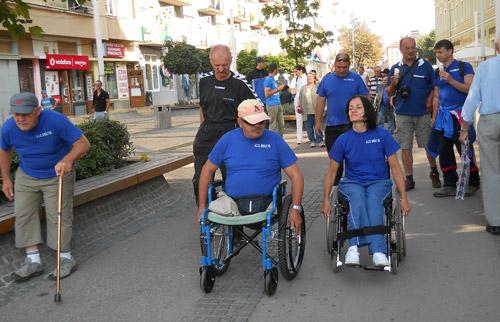 Cupa ICAR pentru handicapații fizic – prima ediție