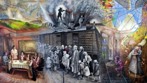 Pictură panoramică istorică