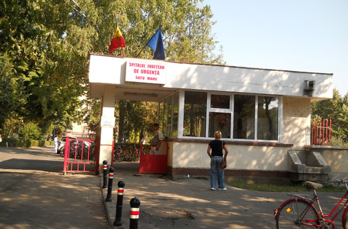 Porţi antişpagă la Spitalul Judeţean Satu Mare