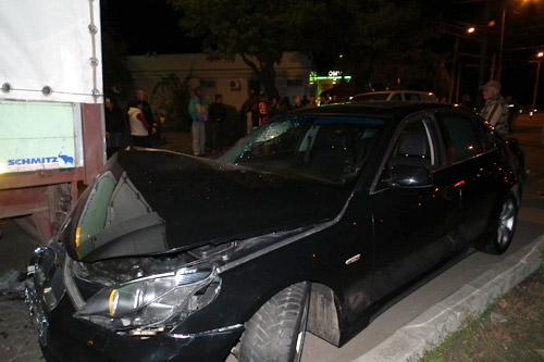 Accident în intersecţia Burdea