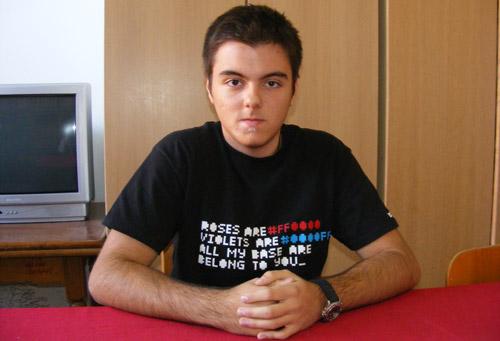 Alexandru Ioan Pop – un elev pasionat de științe