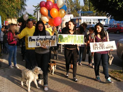Marş de Ziua Mondială a Animalelor