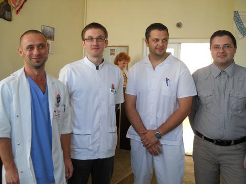 Medici noi la Spitalul Județean