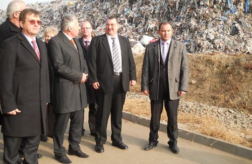 Groapa de gunoi de la Doba, lăudată de ministrul Borbelyi Laszlo