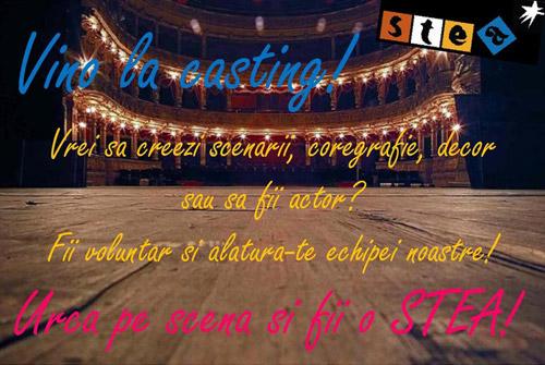 Urcă pe scenă şi fii o STEA!!!