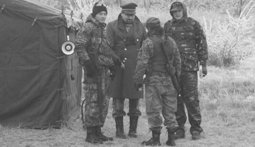 Mine antipersonal şi trupe partizane în pădurea de la Foieni