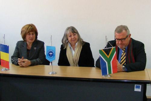 O delegație a Ambasadei Republicii Africa de Sud, a fost prezentă astăzi la Satu Mare