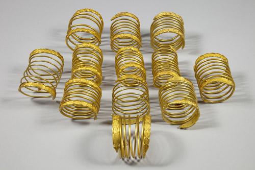 Brăţările regale dacice de aur de la Sarmizegetusa Regia vor fi expuse la Satu Mare