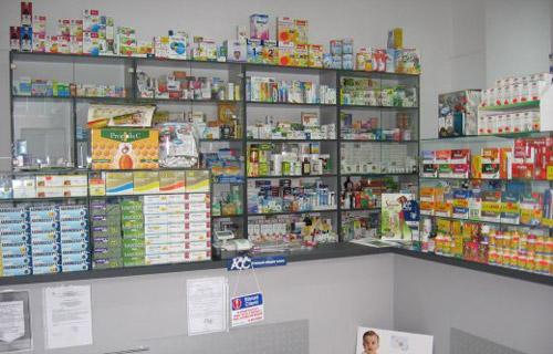 Tâlhărie la farmacia de lângă Agenţia TAROM