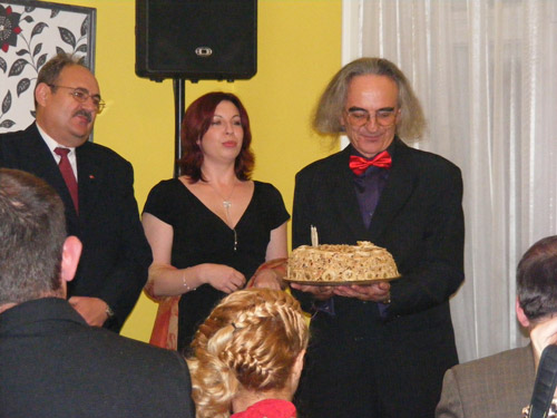 Artă, sărbătoare şi mici înţepături politice la Casa Creaţiei Satu Mare