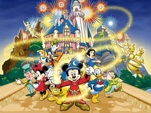 Copii, veniți în lumea lui Walt Disney!