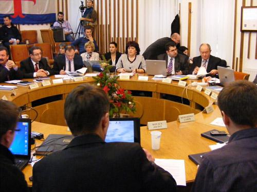 Consiliul Local Satu Mare, ultima şedinţă din 2011
