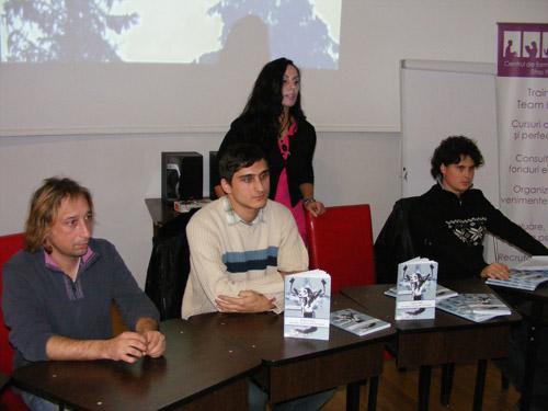 Theo Guşat la o nouă lansare de carte