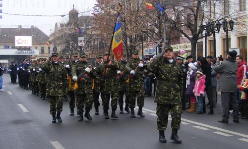 Ziua Naţională a României, sărbătorită sec la Satu Mare